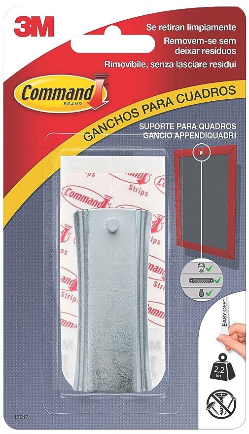 Command 17047 -Clavo dentado para colgar cuadros (pequeña, hasta 2,2 ...