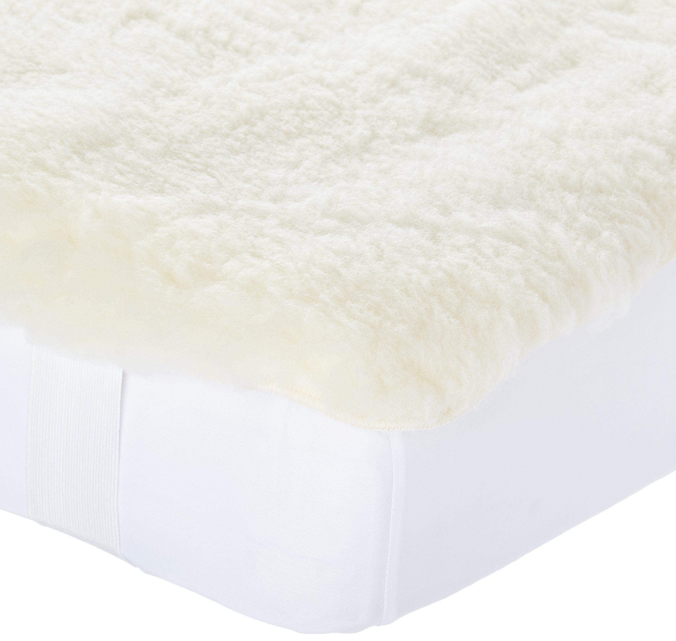 SnuggleWool Lambs Wool Pad Crib, 28'' L x 52'' W by SnuggleWool