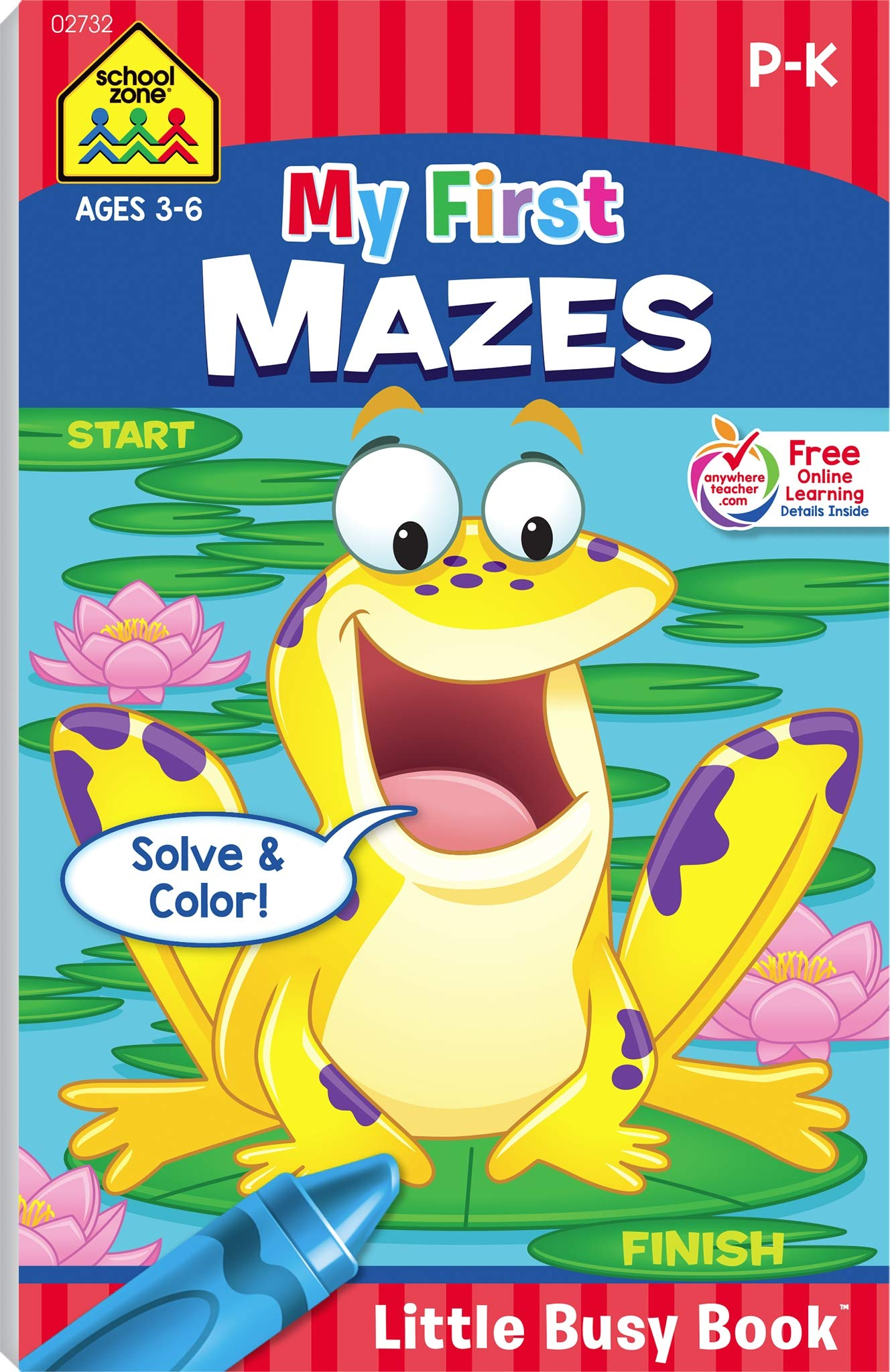 Download My First Mazes Little Busy Book Ages 3-6 PDF