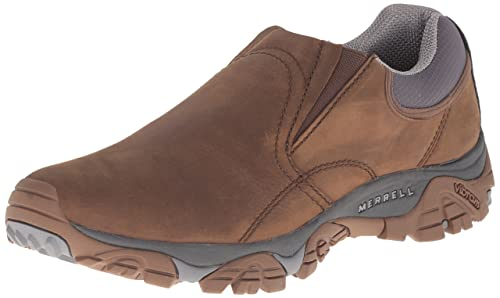 2018 shoes select for best prevalent Merrell Men's Moab Rover Moc Loafers