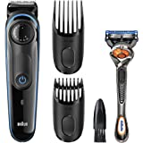 Braun BT3040 Beard / Hair Trimmer for Men – Ultimate precision for 100% control of your style