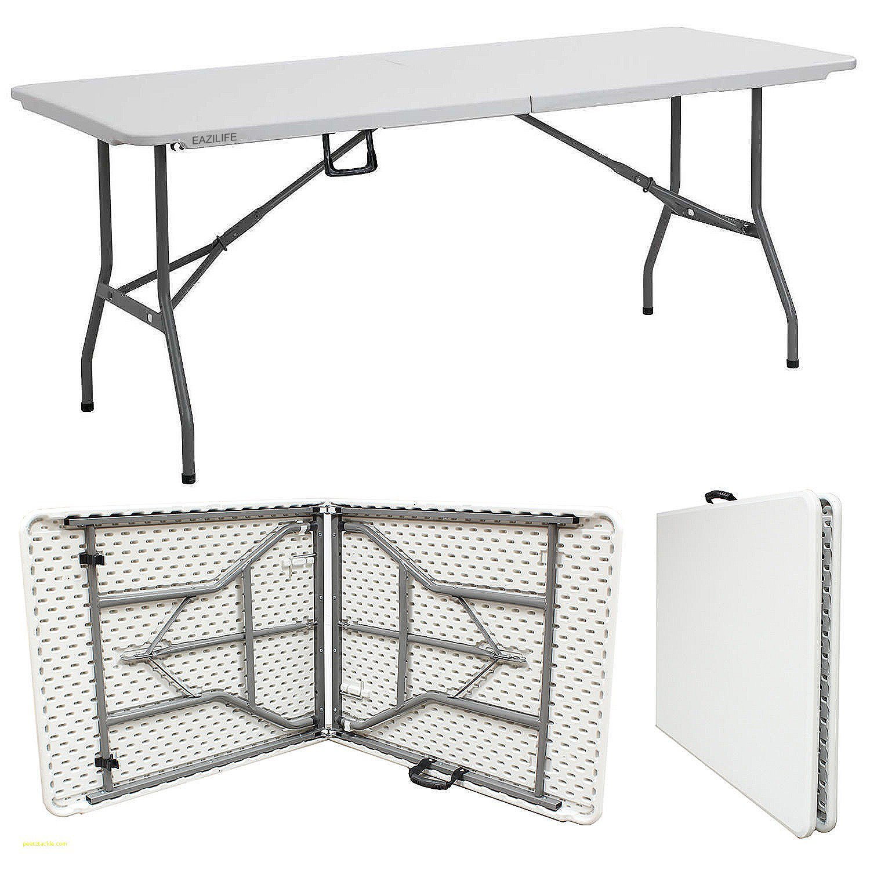 EAZILIFE 1,8/m Heavy Duty Plastique et table pliante dext/érieur Banquet Tr/éteau f/ête Jardin BBQ D/écoration Leisure