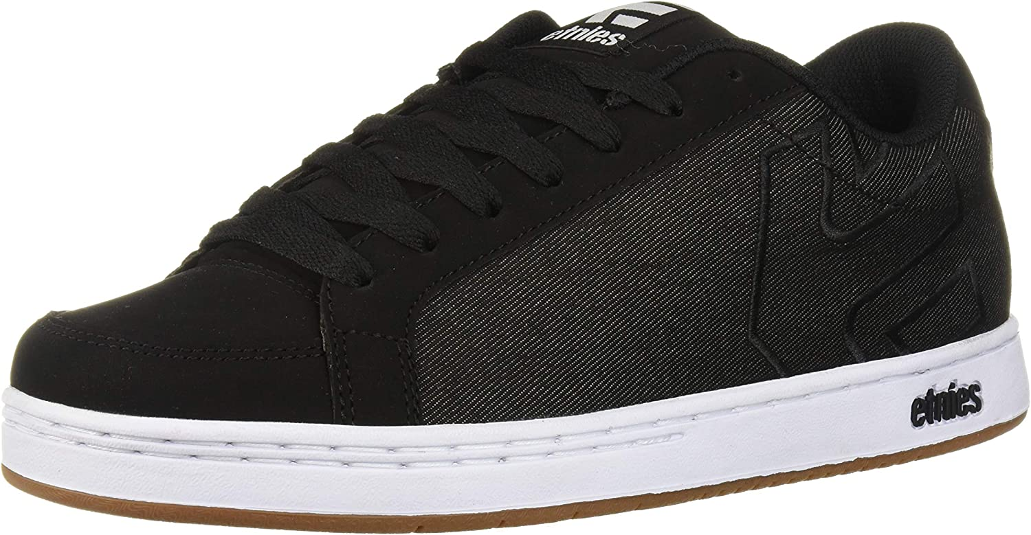 Etnies Men s Kingpin 2 Skate Shoe, Black Dark Grey, 7.5 Medium US