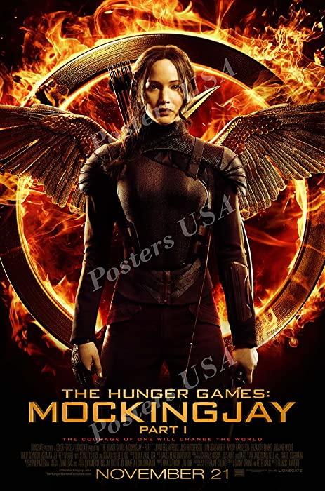"""Posters USA - The Hunger Games Mockingjay Part 1 Movie Poster GLOSSY FINISH - MOV360 (24"""" x 36"""" (61cm x 91.5cm))"""