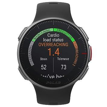 f7a84048e66 Polar Vantage V GPS Multisport Watch, Unisex-Adult, Black, One Size ...