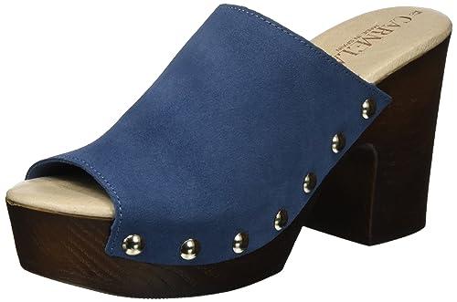 XTI Damen Jeans Suede Ladies Shoes Clogs