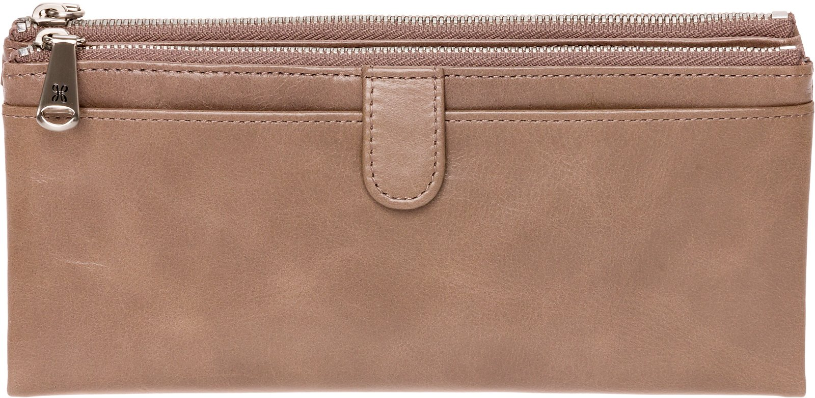 Hobo Womens Leather Vintage Taylor Clutch Wallet (Ash)