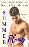 Summer Fling (Players of Marycliff University Book 1) (English Edition)