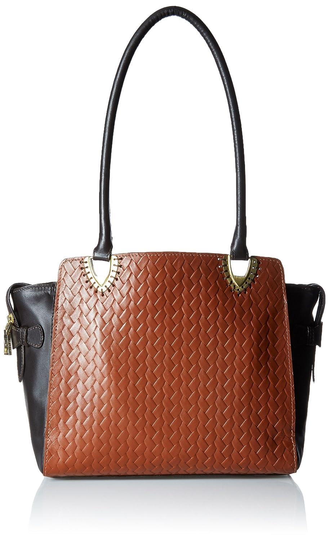 Hidesign Women Shoulder Bag (Tan)(EE LIYA 02-WOVEN-TAN)