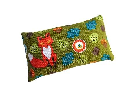 Nakpunar Fox costura pines - Cojín relleno de arena de papel ...