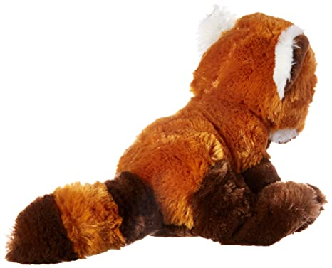Amazon Com Wishpets 9 Big Eyes Red Panda Plush Toys Games