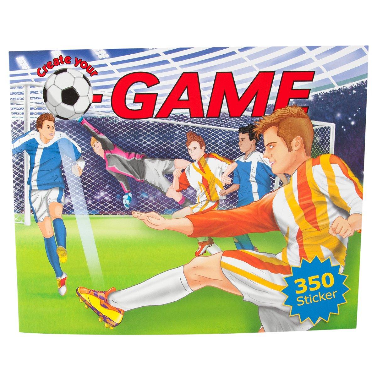 Trend 8064 - Create your Football Game Malbuch: Amazon.de: Spielzeug