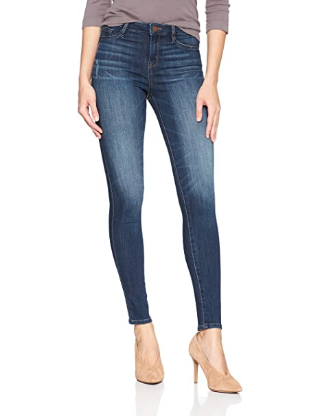 William Rast Women's Sculpted High Rise Skinny Jean, Rustic New Waves/Fading, 31 best skinny jeans
