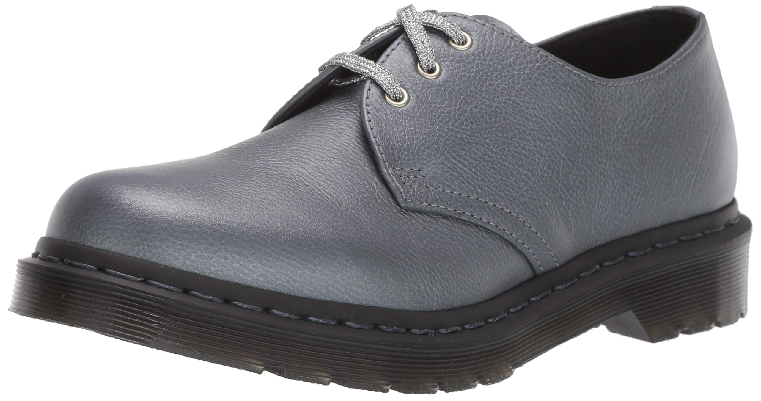 Dr. Martens Women's 1461 Oxford, Gunmetal, 9 M UK (11 US) by Dr. Martens