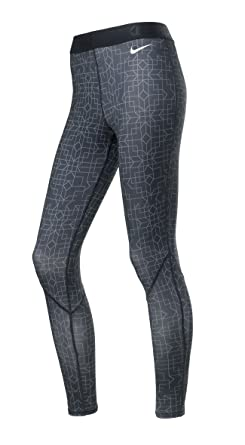 e704cb0a7fb196 Nike Hyperwarm Print II Long Running Tights Womens (X-Small): Amazon.co.uk:  Clothing