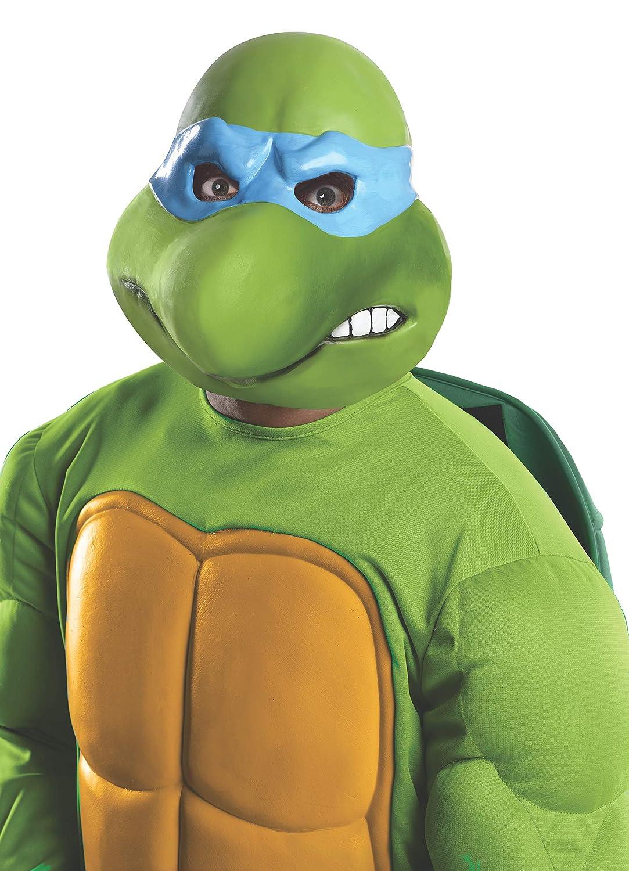 Máscara de Leonardo Tortugas Ninja para adulto: Amazon.es ...