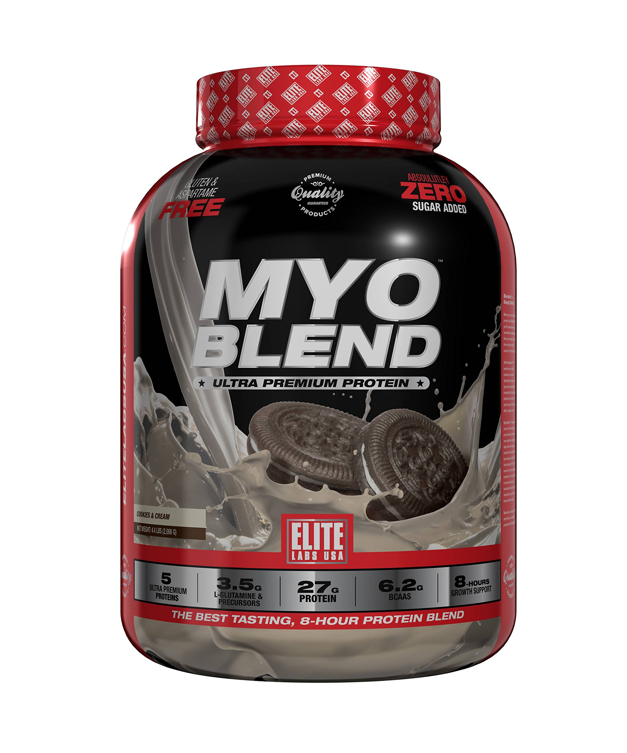 Elite Labs USA MYOBLEND COOKIES AND CREAM 4.4 LBS by Elite Labs USA (Image #1)