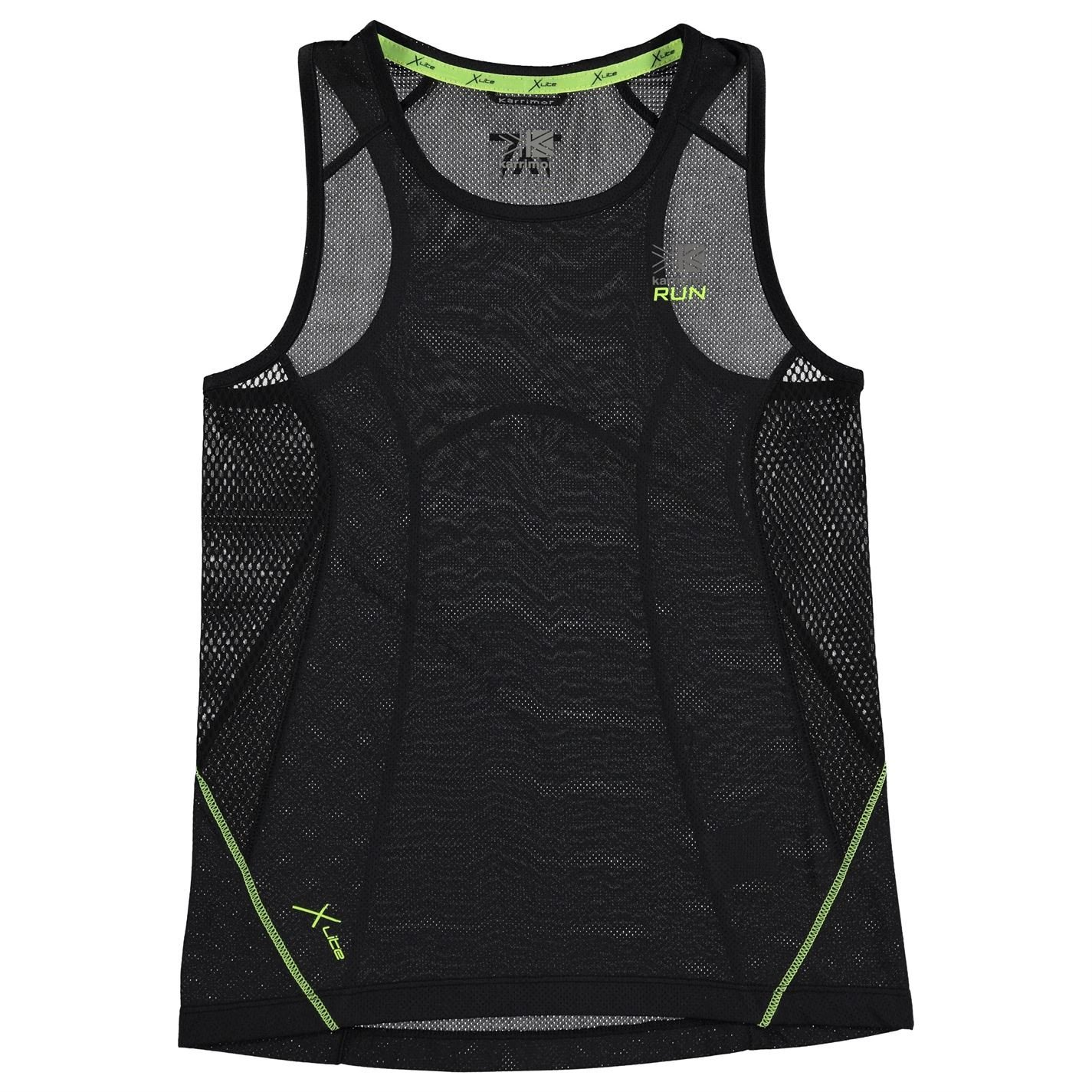 Karrimor Kids Xlite Vest Junior Boys Sleeveless Running Casual Sports Clothing