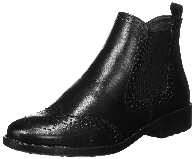 Tamaris 25493, Botas Chelsea para Mujer42 EU|Negro (Black Leather)