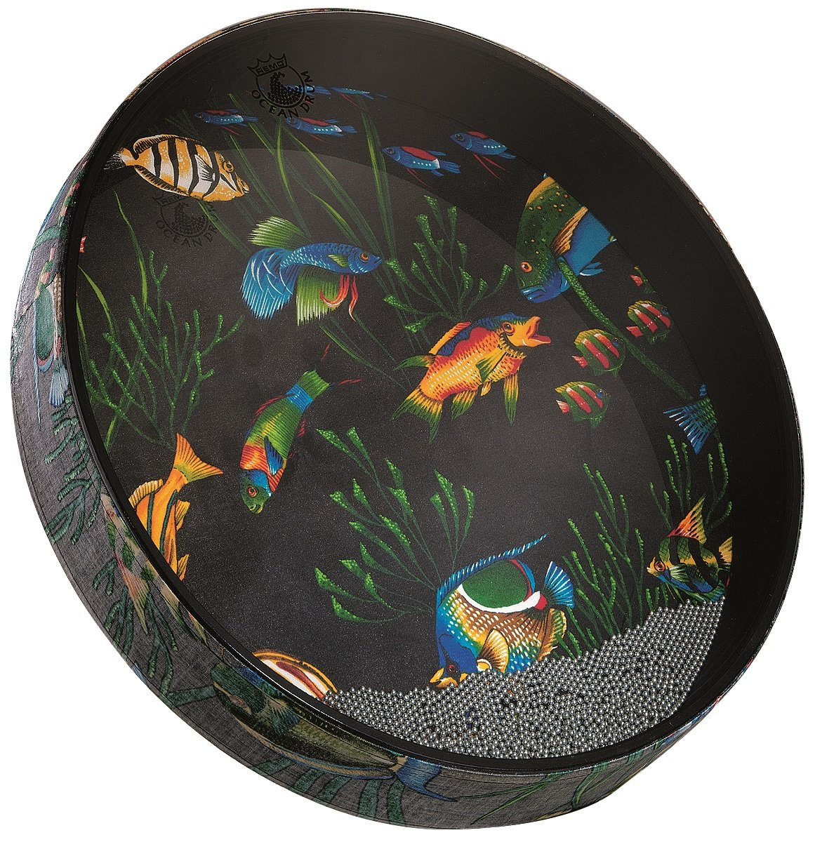 Remo 12'' Ocean Drum, Fish Design Head by Remo