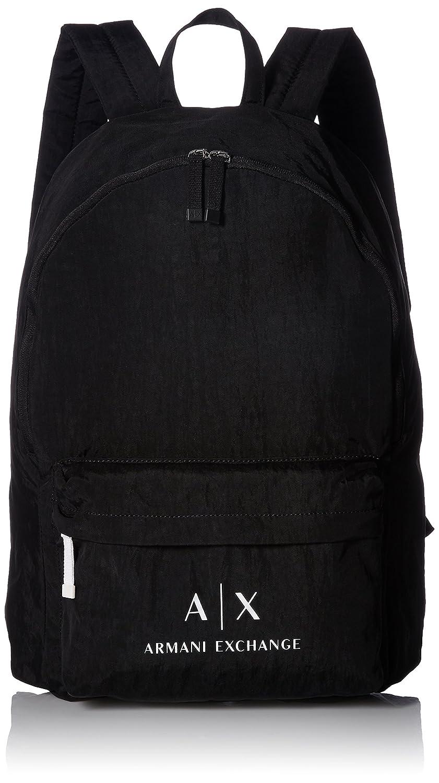 5702a64a75e7 Amazon.com  Armani Exchange Men s Crinkle Nylon Backpack