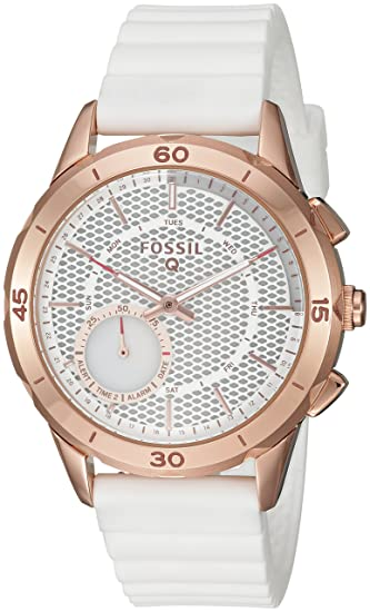 02cfd38d6b2d Smartwatch Híbrido Fossil Q Modern Pursuit FTW1135 Blanco  Amazon ...