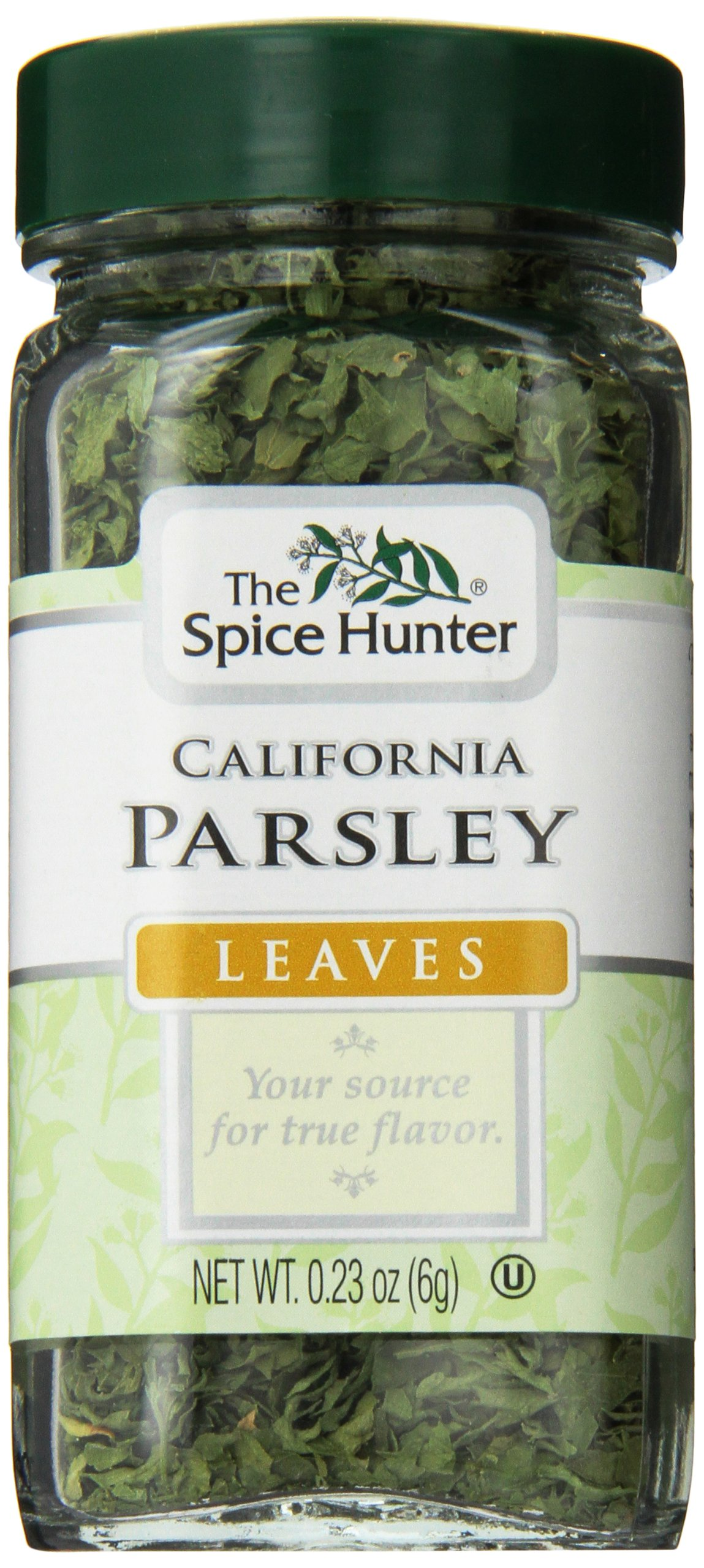 The Spice Hunter Parsley, California, Leaves, 0.23 Ounce Jar (Pack of 48)