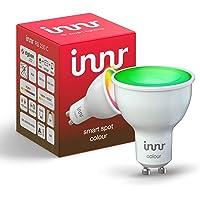 Innr Smart GU10 LED-spot Color, compatibel met Philips Hue*, Alexa & Hey Google (bridge vereist) dimbaar, 16 miljoen…