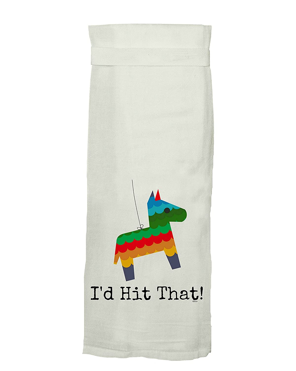Adult Humor with Hang Tight Design from Id HIT That Made with A Super Absorbent Quick Dry Made with A Super Absorbent Twisted Wares Kitchen Towel Lint Free 100/% Cotton Flour Sack Adult Humor with Hang Tight Design from I/'d HIT That