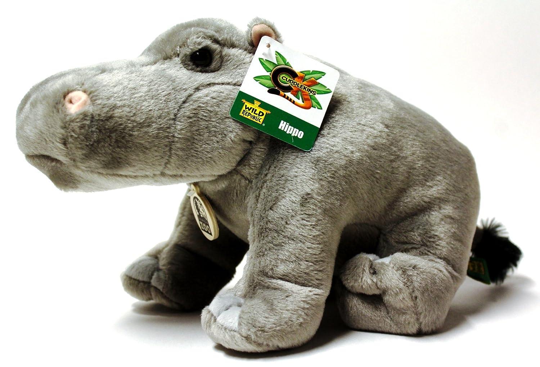 Wild Republic Cuddlekins 12 Hippo Plush by Wild Republic