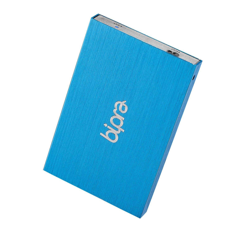 Bipra 320GB 320 GB USB 3.0 2.5 inch FAT32 Portable External Hard Drive - Blue