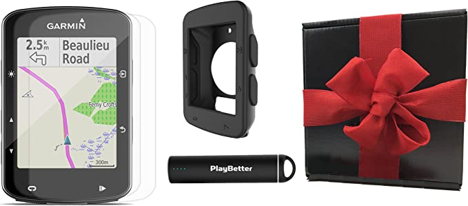 Garmin borde 520 Bundle caja de regalo | con playbetter carcasa de ...