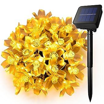 Ankway Led Lichterketten Solar Lichterkette 16ft 30 Leds
