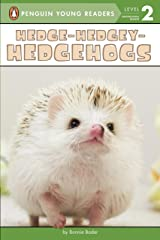 Hedge-Hedgey-Hedgehogs (Penguin Young Readers, Level 2) Kindle Edition