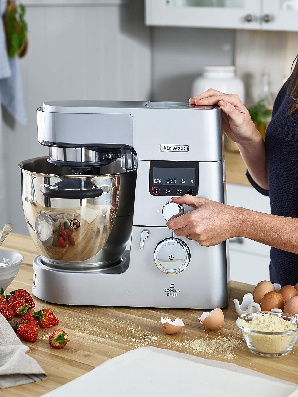 Kenwood Cooking Chef Gourmet KCC9040S - Robot de cocina, 1500 W, inducción 20-180 °C, capacidad 6,7 L: Amazon.es: Hogar