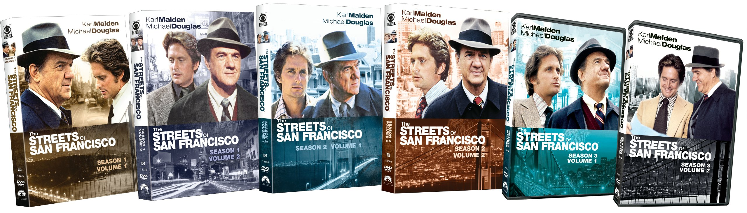 Streets of San Francisco: Seasons 1-3 by Paramount