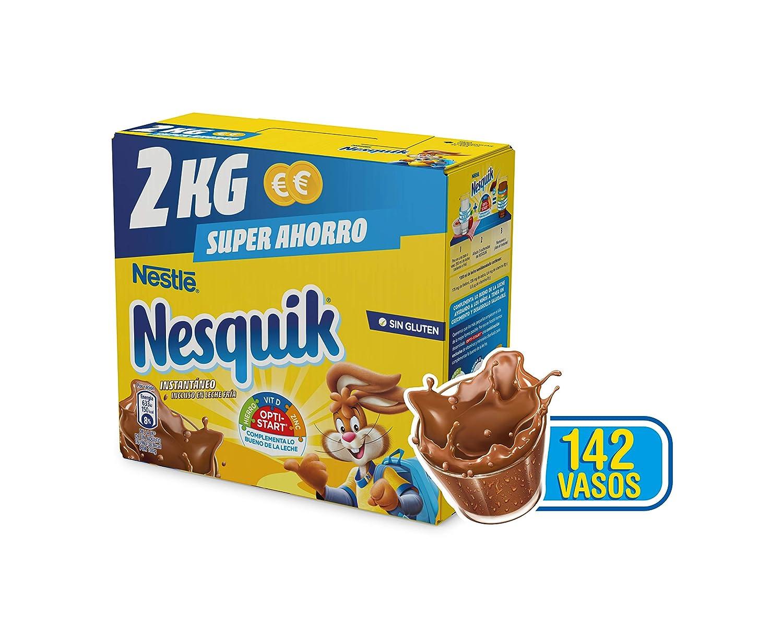 Nestlé Nesquik Cacao Soluble Instantáneo - Estuche 2 kg