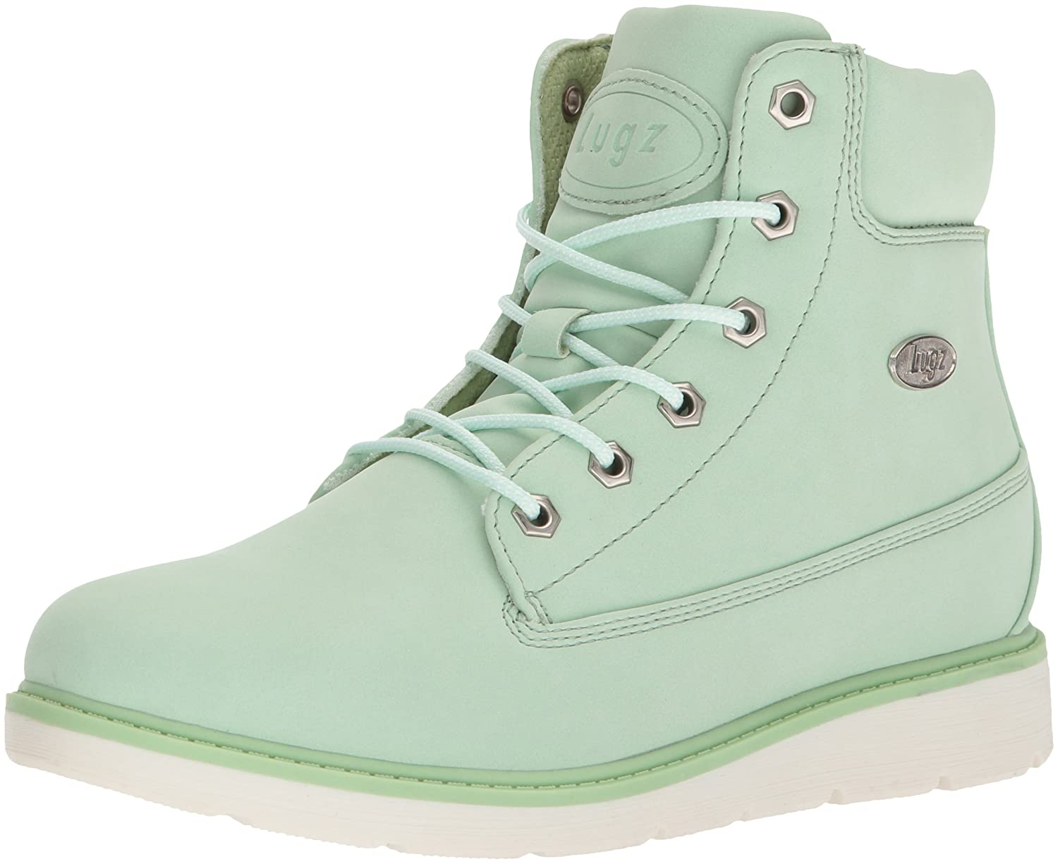 Lugz Women's Quill Hi Fashion Boot B073JX22D9 6 B(M) US|Mint/White