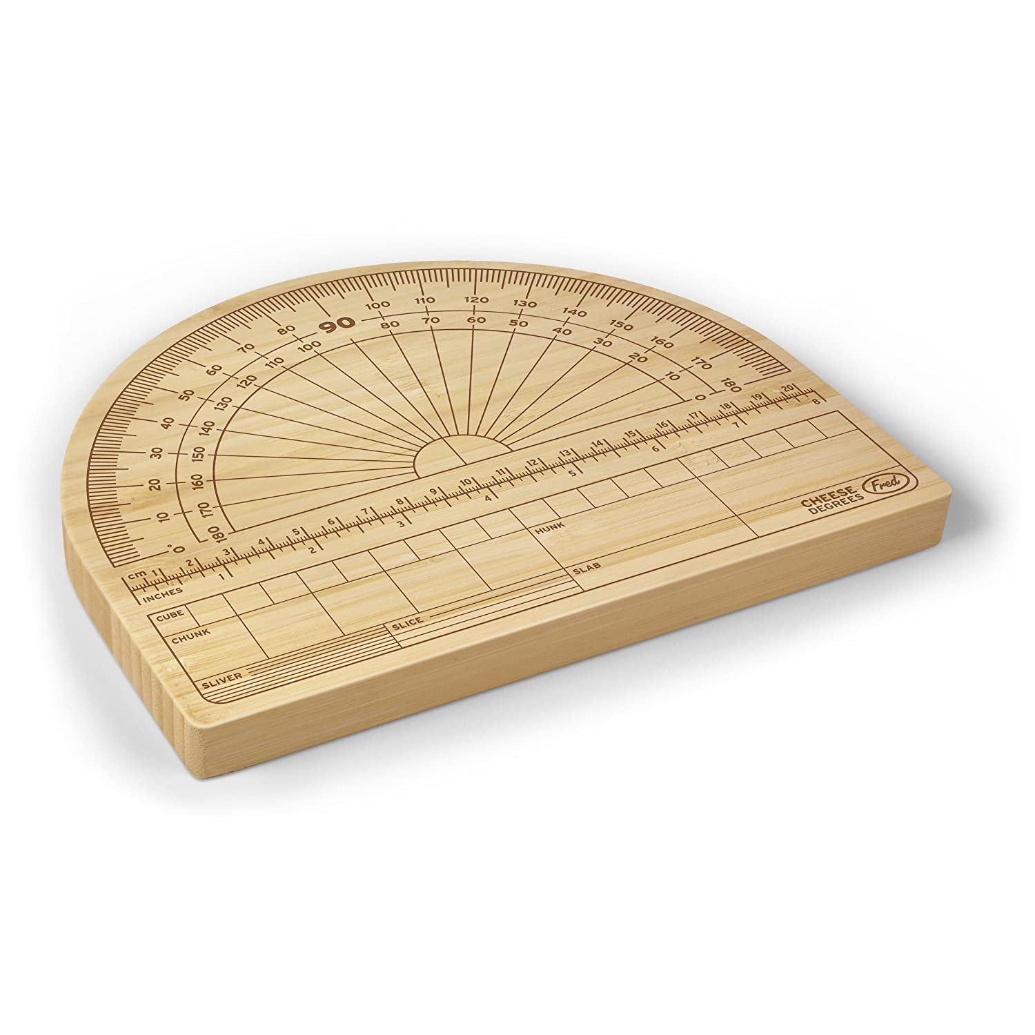 Fred CHEESE DEGREES Precision Cheese Cutting Board KitchenCraft 5186692