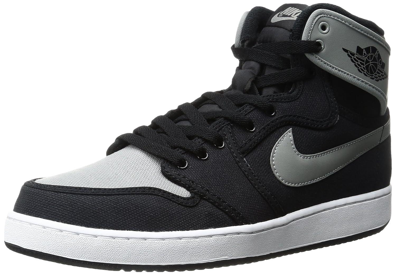 Black, shadow grey-white Nike - AIR JORDAN 1 MID