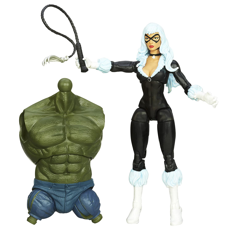 6 Inches Marvel The Amazing Spider-Man 2 Marvel Legends Infinite Series Skyline Sirens Action Figure Black Cat