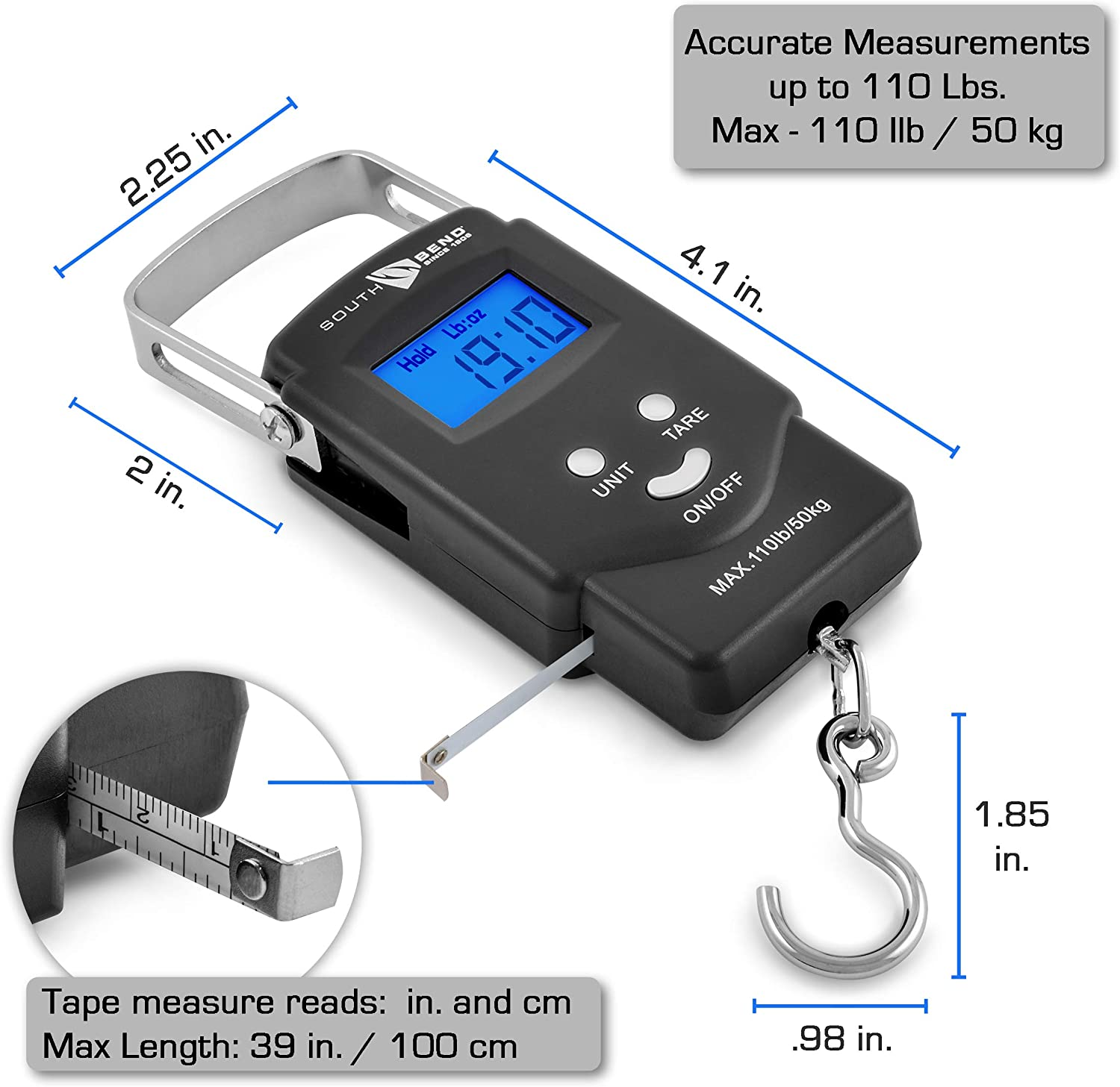 Business Industrial Other Thermometers 50 Kg 110 Lb Electronic Digital Portable Luggage Hanging Weight Scale Nd Studio In Fine Fr A quick online weight calculator to convert pounds(lb) to kilograms(kg). studio in fine