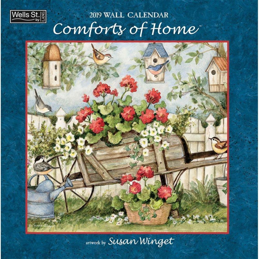 Lang WSBL Comforts of Home 2019 12X12 Wall Calendar (19997001724)