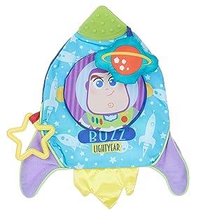 Disney Baby Pixar Toy Story Buzz Lightyear Activity Teether Blanket
