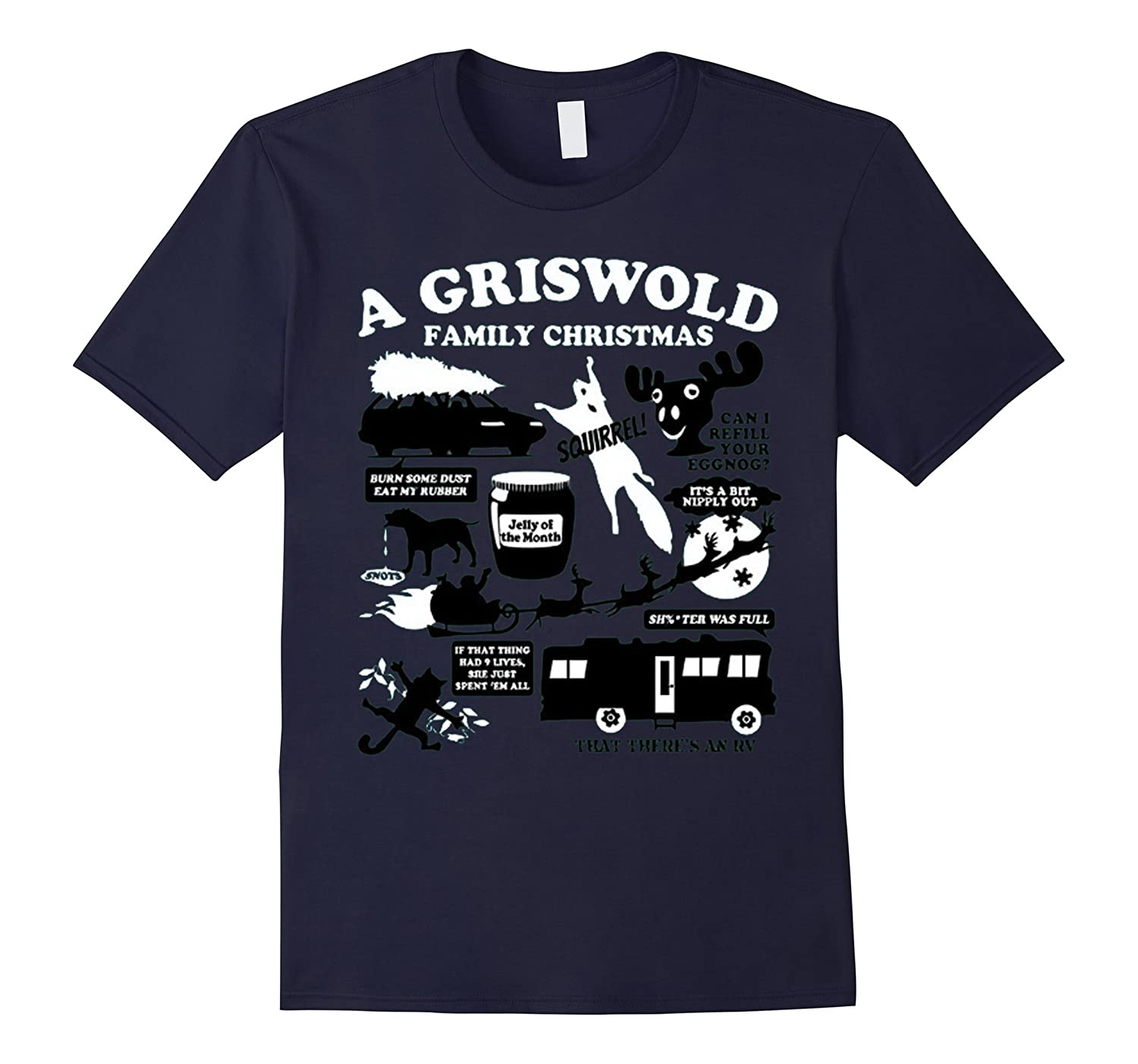 A Griswold Family Christmas T-Shirt-CL