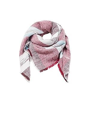 d8dc09f44fcd edc by Esprit Accessoires 107ca1q006, Echarpe Femme, Rouge (Bordeaux Red 600 ),