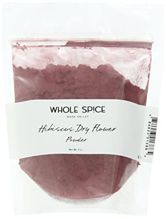 Amazoncom Whole Spice Hibiscus Dry Flower Powder 4 Ounce