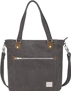 Travelon Anti-Theft Heritage Tote Bag, Pewter (Gray) - 33075 540