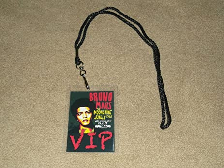 Amazon bruno mars the moonshine jungle tour all area access bruno mars the moonshine jungle tour all area access vip backstage meet greet package pass m4hsunfo