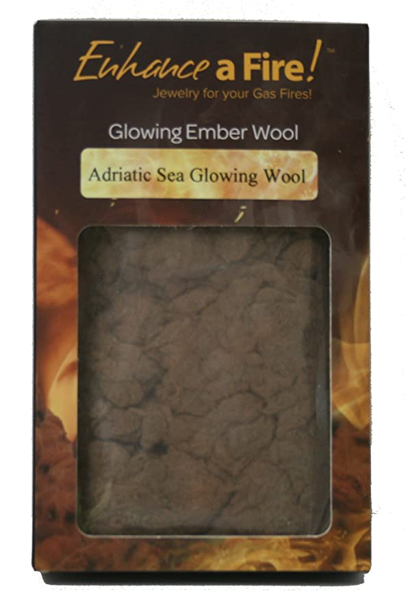 a537e3d1eb0 Rock Wool Glowing Embers for Gas Log Sets, Inserts and Fireplaces (Adriatic  Sea) : Garden & Outdoor